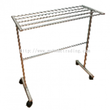 TS-118 Stainless Steel Towel Stand