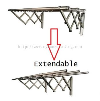 MHT-EXandable Stainless Steel Wall Mount Hanger