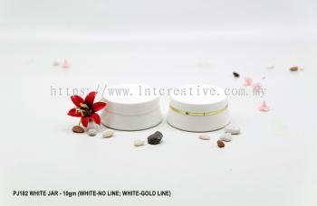 PJ182 WHITE JAR-10gm