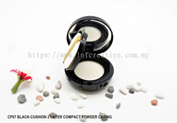 CP07-BLACK CASING WITH CUSHION (2 LAYER)
