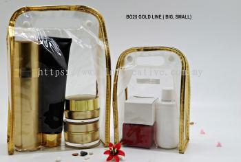 BG25 GOLD LINE TRAVEL BAG