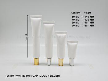 T25 WHITE - T014 CAP