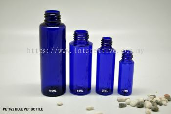 PET BOTTLE (BLUE)