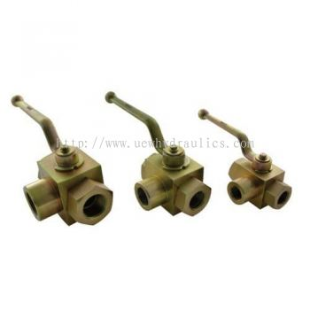 Hydraulic 3 Way Ball Valve