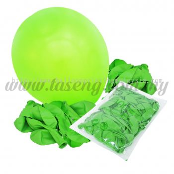 12 inch Standard Balloon - Lime Green (B-SR12-471)