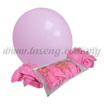 16 inch Standard Round Balloon - Light Pink (B-16SR-007)