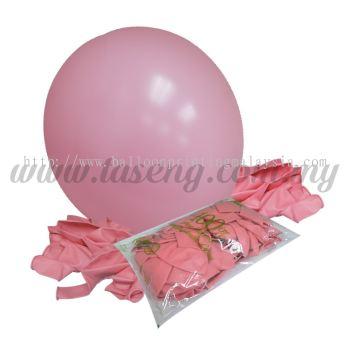 16 inch Standard Round Balloon - Pink (B-16SR-052)