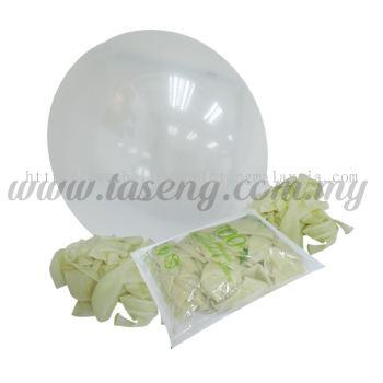 16 inch Standard Round Balloon - Transparent (B-16SR-057)
