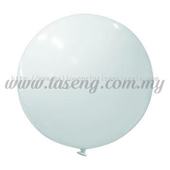 36inch Standard Round Balloon - White (B-36SR-ST1)