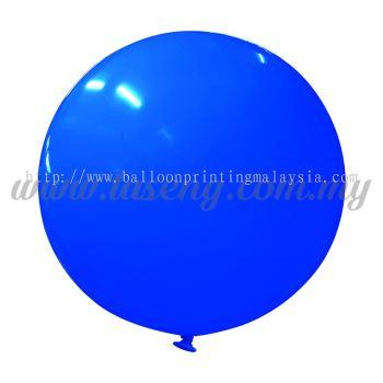 36inch Standard Round Balloon - Blue (B-36SR-ST2)