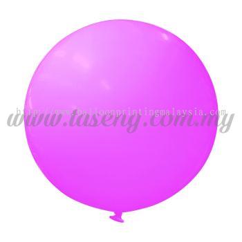 36inch Standard Round Balloon - Pink (B-36SR-ST3)