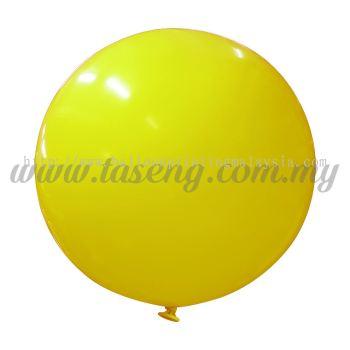 36inch Standard Round Balloon - Yellow (B-36SR-ST4