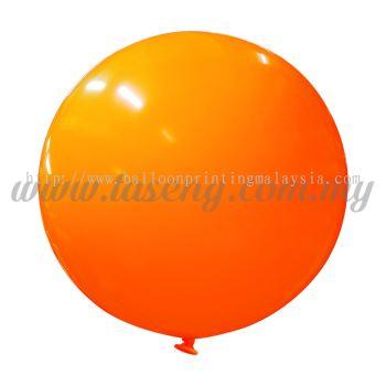 36inch Standard Round Balloon - Orange (B-36SR-ST5)