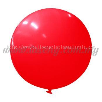 36inch Standard Round Balloon - Red (B-36SR-ST7)