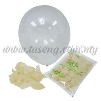 12 inch Crystal Round Balloon - Clear (B-CR12-600)