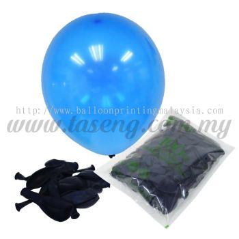 12 inch Crystal Round Balloon - Blue (B-CR12-651)