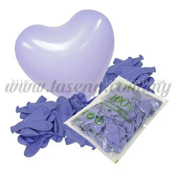 11inch Standard Heart Shape Balloon - Lavender (B-SH11-261)