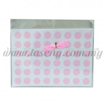 Sticker (Polka Dot) - Baby Pink (SK-PD1-BP)