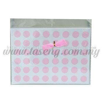 Sticker (Polka Dot) - Baby Pink (SK-PD1-BP)
