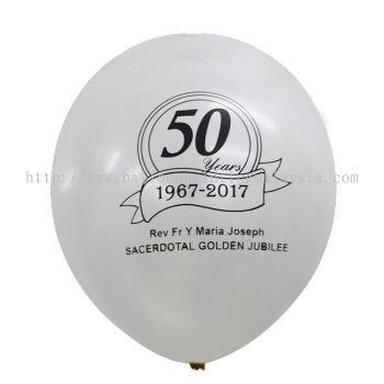 50 years - White