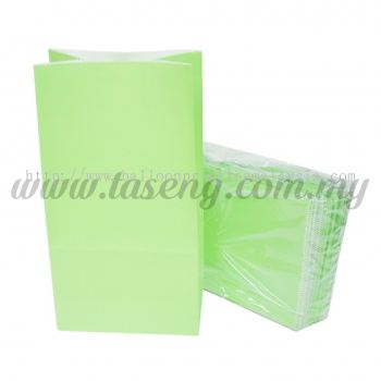Kraft Paper Bag -Lime Green 1pack *10pcs (RPB-P1-LG)