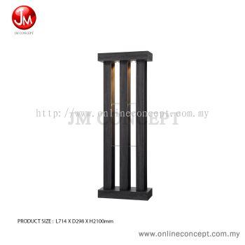 JM Concept Lively Living Room Modern Display Divider (2.5 Feet)