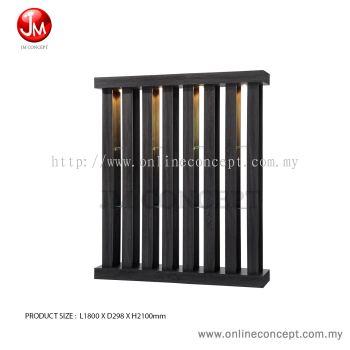 JM Concept Lively Living Room Modern Display Divider (6 Feet)