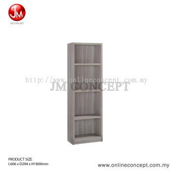JM Concept BS02 Carnival Book Shelf / File Cabinet / Storage Cabinet / Multi Function Storage