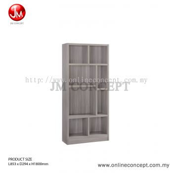 JM Concept BS05 Carnival Book Shelf / File Cabinet / Storage Cabinet / Multi Function Storage