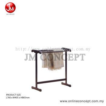 Essential Single Towel Rack (WG)
