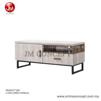 JM Concept 4FT Jarvy TV Cabinet / Storage Cabinet (S)