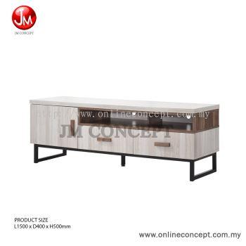JM Concept 5FT Jarvy TV Cabinet / Storage Cabinet (M)