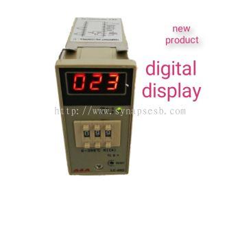 A & A analog digital display temperature controller