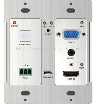 HDBaseT wall-mountable Transmitter (405PT-WPB)
