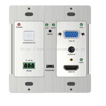 HDBaseT wall-mountable Transmitter (TPHD405PT-WPB)