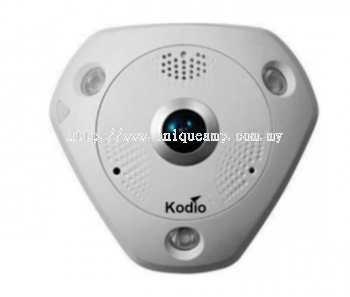12MP Fisheye Network Camera (PVIP-120IR)