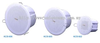 6W 100V Ceiling Speaker (KCS-602_KCS-605_KCS-606)