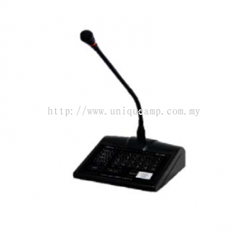 24 Zone Digital Paging Microphone (RM-5024)