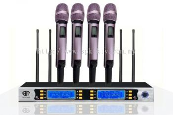 Professional UHF Wireless Microphone (SPK-AK8400A)