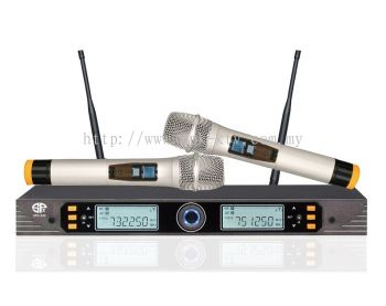 Professional UHF Wireless Microphone (SPK-AK808)