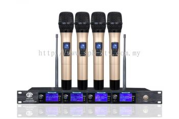 Professional VHF Wireless Microphone (SPK-SX6100)