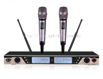 Professional UHF Wireless Microphone (SPK-AK888)