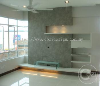 Living Hall for Condo at Penang
