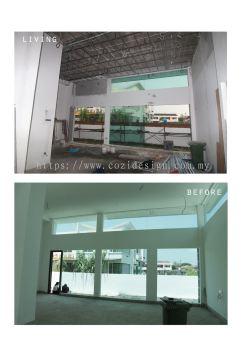 Residential interior design (Bungalow)