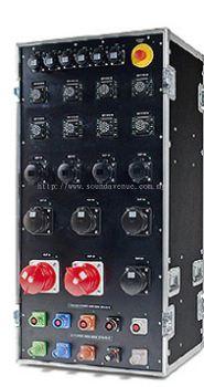 400 Amp - 19�� RACK-CASE LINE Distribution Box