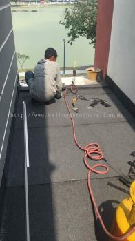 Touch on membrane waterproofing services