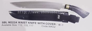 Waist Knife with Cover