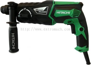 Hitachi 830W 26mm 3 Mode SDS+ Rotary Hammer DH26PC