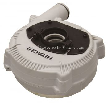 "Hitachi Dust Extractor for 4"" Disc Grinder (For Diamond Wheel Grinding)"