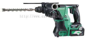 Hitachi Multi Volt 28mm Cordless Rotary Hammer DH36DPA